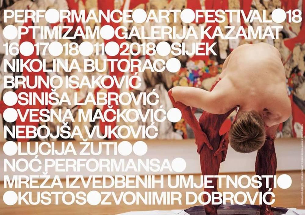 18. Performance Art Festival: Optimizam